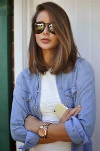 Coupe Cheveux Mi Long : ombre style long bob design short hairstyle 2013 ~ Melissatoandfro.com Idées de Décoration