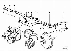 Original Parts For E34 520i M20 Sedan    Engine   Vacuum Control Engine