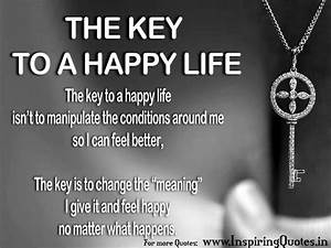 Daily Good Inspirational Quotes on Happiness - Happy Life ...