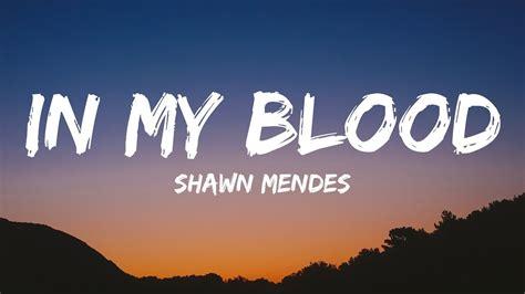 Lirik Lagu In My Blood Shawn Mendes Soundcloud Mp3 [11.78