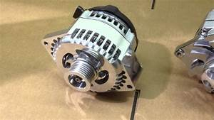 Billet High Output Alternator 150 Amps At Idle     Delco