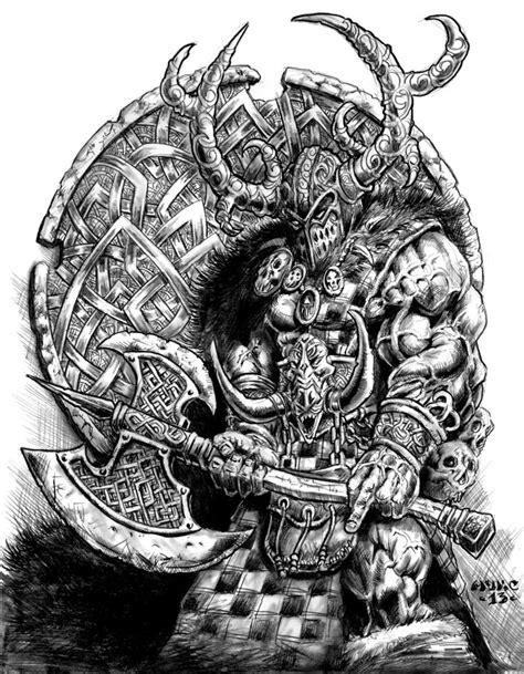 Slaine Mac Roth by vikingmyke on deviantART | 2d Art | Fantasy art, Viking tattoos, Norse tattoo