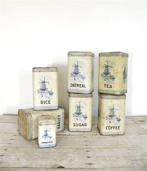 antique kitchen canister sets vintage kitchen canister set