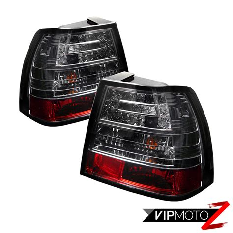 smoke led brake back rear l light 1999 2005 vw mk4