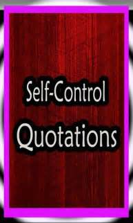 Quotes About Self-Control