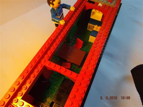 Lego Narrow Boat by Lego Ideas Roll Along Narrowboat