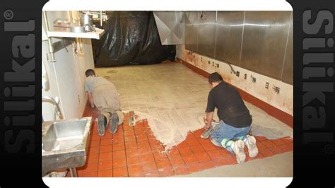 kfc overnight  tile floor coating silikal youtube