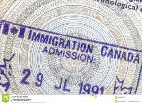 Canada Immigration Stamp