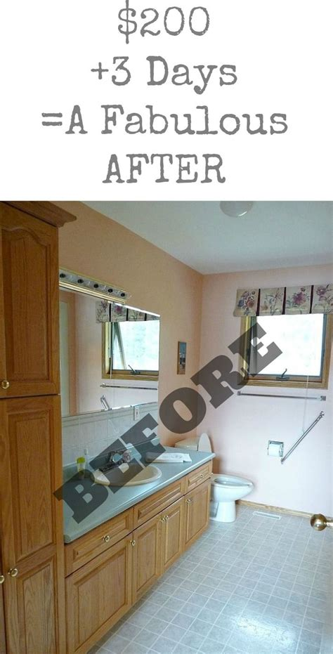 Cheap Bathroom Makeover Ideas by Budget Friendly Bathroom Makeover Diy Home Decor Diy