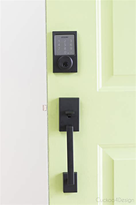 best door locks our new schlage bluetooth smart door lock cuckoo4design