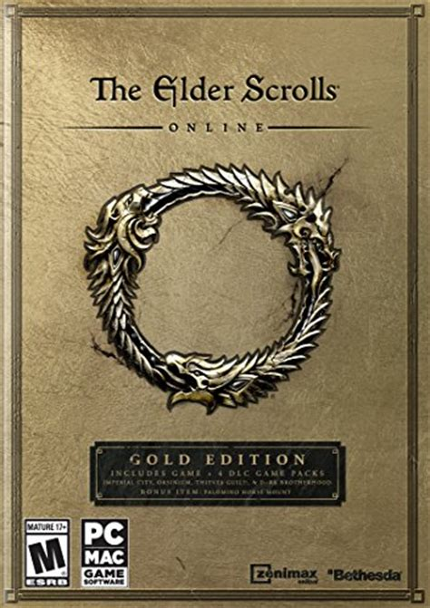 The Elder Scrolls Online Gold Edition Release Date Pc