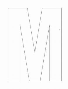 Letter M template | Letter Factory | Pinterest