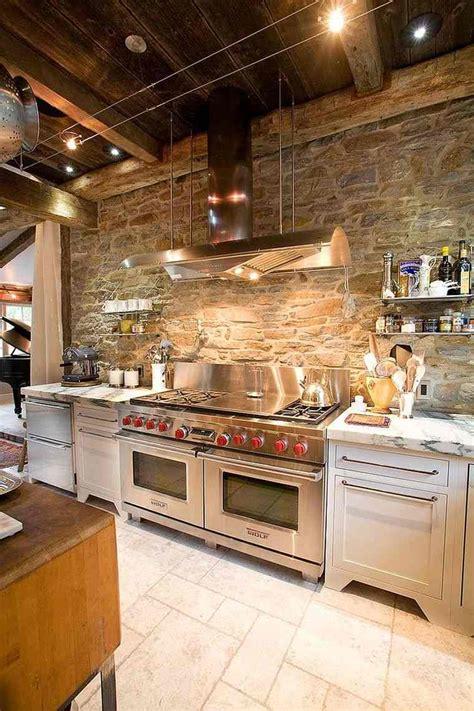 mur de cuisine déco pour les murs de la cuisine en 49 exemples