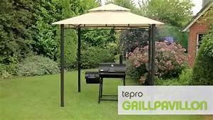 Grillpavillon Selber Bauen : tepro grillpavillon mit doppeldach youtube ~ Eleganceandgraceweddings.com Haus und Dekorationen