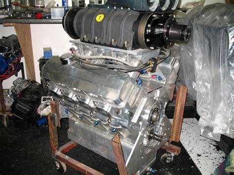 polished rodeck big chief blower engine