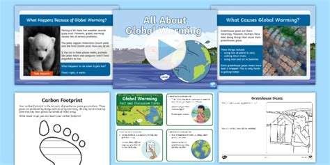* New * Ks1 All About Global Warming Resource Pack  What Is Global Warming