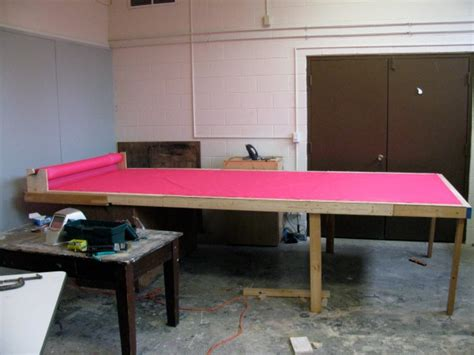 commercial fabric cutting table stuff in the studio jimmy kuehnle