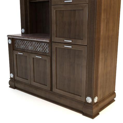 Kitchen Cabinet 3d Model Max 3ds Fbx  Cgtradercom