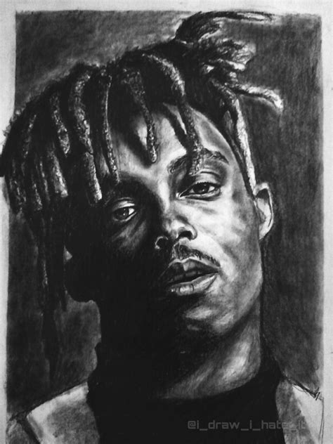 Juice world black and white. Black And White Juice Wrld Drawing Easy : Made This In ...