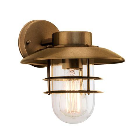 verve design antique bronze nautical wall light bunnings