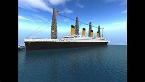 Minecraft Titanic - Then And Now