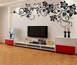 Deko Wohnzimmer Wand : wanddeko ideen ~ Lizthompson.info Haus und Dekorationen
