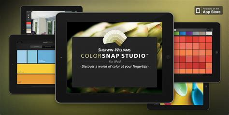explore paint color options on your ipad with new sherwin