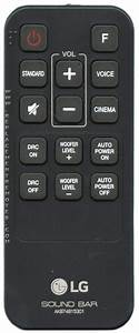 Buy Lg Akb74815301 Sound Bar System Remote Control