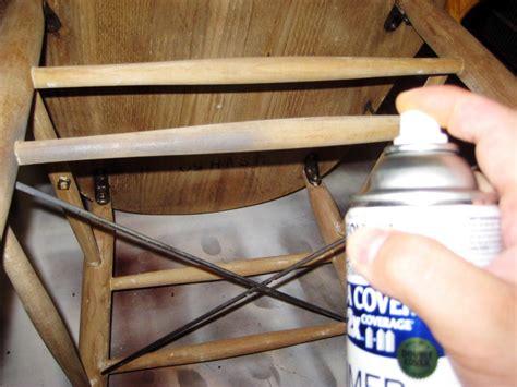 comment peindre une chaise avec un look ancien patin 233 bricobistro