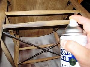 comment peindre une chaise avec un look ancien patine With comment peindre une chaise