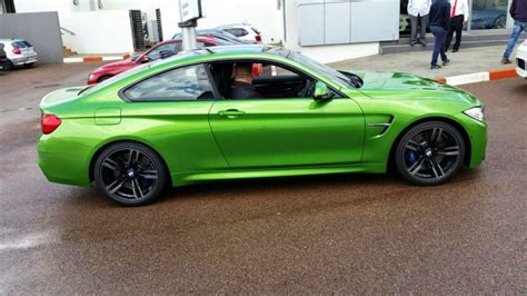 java green bmw java green bmw m4 touches down in south africa