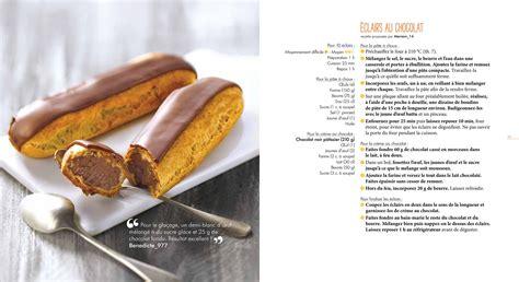 le marmiton recette cuisine eclair au chocolat marmiton