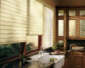 window treatment ideas for kitchens kitchen window shades viewing gallery