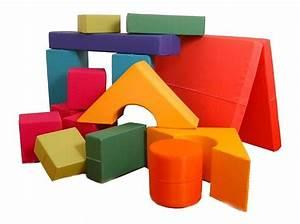 Schaumstoff Bausteine Kinderzimmer : briks kinderspielh user baukl tze aus schaumstoff spielw rfel spielmatten quader ~ Watch28wear.com Haus und Dekorationen