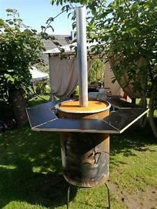 Feuertonne feuerfass feuerstelle in bischbrunn for Feuerstelle garten mit balkon pflanzen töpfe