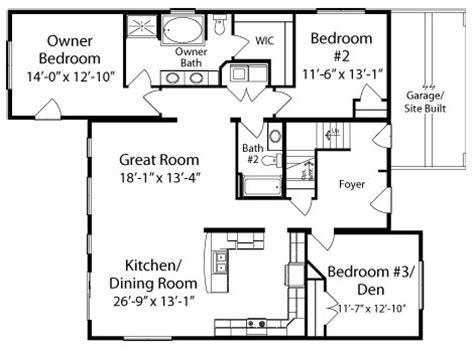 floor plans for ranch homes lakewood by all homes cape cod floorplan