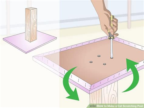 cat scratching post  steps  pictures