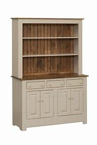"""Pine Farmhouse 50"""" Open Hutch from DutchCrafters Amish"""