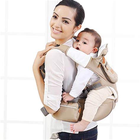 newborn infant hip seat baby carrier breathable ergonomic wrap sling backpack ebay