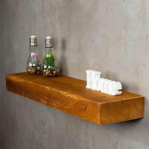 Regal Holz Massiv : levandeo wandregal holz massiv 80x20cm teak farbig wandboard regal vintage bord levandeo ~ Eleganceandgraceweddings.com Haus und Dekorationen