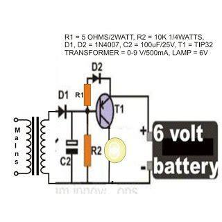 Li Led Flashlight Diagram by Emergency Light Circuit Using A Flashlight Bulb