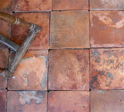 Reclaimed Spanish Terracotta Tiles at 1stdibs