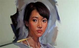 Oil Painting Girl Portrait Demo - YouTube