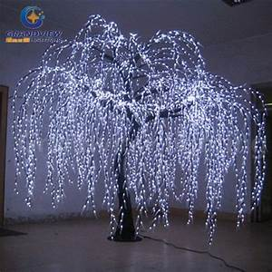 china lighted willow tree real look trunk led indoor out With outdoor light up willow tree