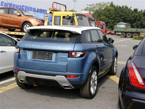 china clones  range rover evoque  landwind