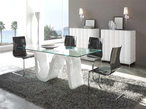 decoracion interiores mesa de comedor  cristal