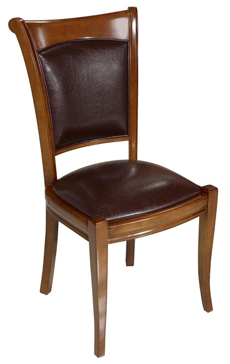 chaise merisier chaise ine en merisier massif de style louis philippe