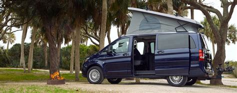 A very popular van, with many people using them as the base of their camper van conversion. Mercedes-Benz Debuts Its First Pop-up Camper Van for U.S ...