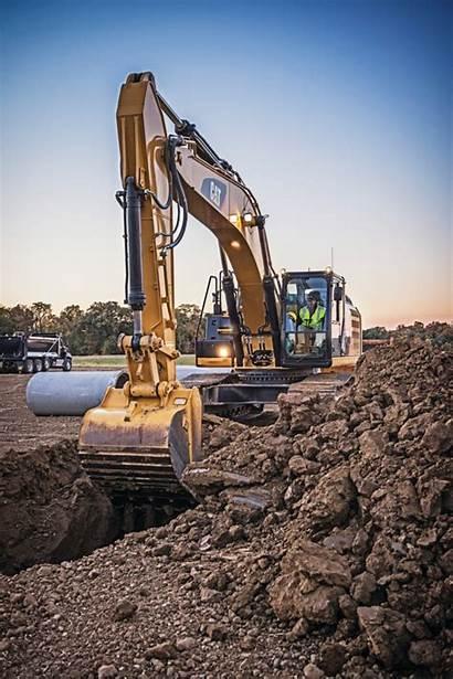 Excavator Cat Caterpillar Construction Equipment Hybrid Guide