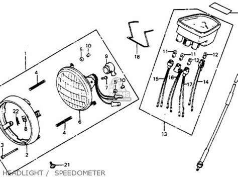 honda c70 passport 1982 c usa parts list partsmanual partsfiche